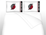 Portland Trailblazers Micro Fiber Sheet Set Queen