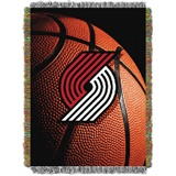 "Portland Trailblazers NBA ""Photo Real"" Woven Tapestry Throw"