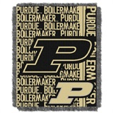 "Purdue Boilermakers NCAA ""Double Play"" Woven Jacquard Throw"