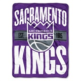 "Sacramento Kings NBA ""Clear Out"" Micro Raschel Throw"