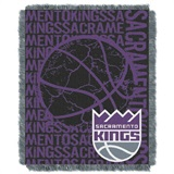 "Sacramento Kings NBA ""Double Play"" Woven Jacquard Throw"