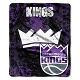 "Sacramento Kings NBA ""Dropdown"" Raschel Throw"