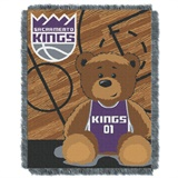 "Sacramento Kings NBA ""Half-Court"" Baby Woven Jacquard Throw"