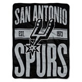 "San Antonio Spurs NBA ""Clear Out"" Micro Raschel Throw"