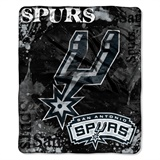 "San Antonio Spurs NBA ""Dropdown"" Raschel Throw"