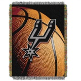 "San Antonio Spurs NBA ""Photo Real"" Woven Tapestry Throw"