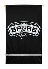San Antonio Spurs Sidelines Wall Hanging