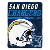 "Los Angeles Chargers NFL ""40 yard Dash"" Micro Raschel Throw"