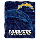 "Los Angeles Chargers NFL ""Strobe"" Sherpa Throw"