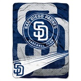 "San Diego Padres MLB ""Speed"" Raschel Throw"