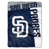 "San Diego Padres MLB ""Strike"" Raschel Throw"