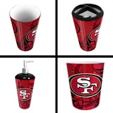 San Francisco 49ers  NFL 4 piece Bath Set