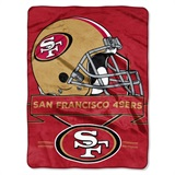 "San Francisco 49ers NFL ""Prestige"" Raschel Throw"