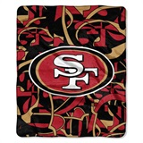 "San Francisco 49ers NFL ""Quicksnap"" Raschel Throw"