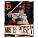 "San Francisco Giants MLB ""Buster Posey"" Player Silk Touch Throw"