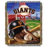 "San Francisco Giants MLB ""Home Field Advantage"" Woven Tapestry Throw"