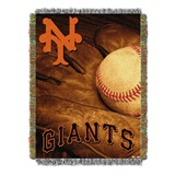 "San Francisco Giants MLB ""Vintage"" Woven Tapestry Throw"