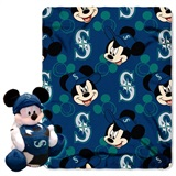 "Seattle Mariners MLB ""Mickey"" Hugger with Throw"