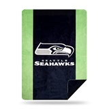 "Seattle Seahawks NFL ""Denali"" Sliver Knit Throw"