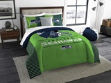 "Seattle Seahawks NFL ""Draft"" King Comforter Set"