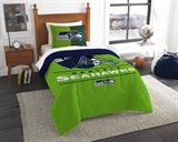"Seattle Seahawks NFL ""Draft"" Twin Comforter Set"