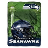 "Seattle Seahawks NFL ""Heritage"" Silk Touch Throw"