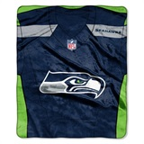 "Seattle Seahawks NFL ""Jersey"" Raschel Throw"