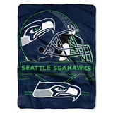 "Seattle Seahawks NFL ""Prestige"" Raschel Throw"