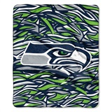 "Seattle Seahawks NFL ""Quicksnap"" Raschel Throw"