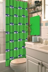 Seattle Seahawks NFL Shower Curtain