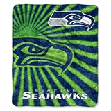 "Seattle Seahawks NFL ""Strobe"" Sherpa Throw"