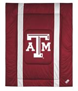 Texas A&M Aggies Sidelines Queen Comforter