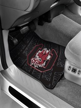 South Carolina Car Floor Mat Set