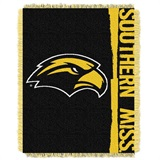 "Southern Mississippi Golden Eagles NCAA ""Double Play"" Woven Jacquard T"