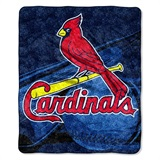 "St. Louis Cardinals  MLB ""Big Stick"" Sherpa Throw"