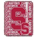 "Stanford Cardinals NCAA ""Double Play"" Woven Jacquard Throw"