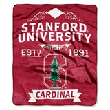 "Stanford ""Label"" Raschel Throw"