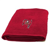 Tampa Bay Buccaneers NFL Applique Bath Towel