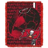 "Tampa Bay Buccaneers NFL ""Double Play"" Woven Jacquard Throw"