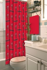 Tampa Bay Buccaneers NFL Shower Curtain
