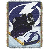 "Tampa Bay Lightning NHL ""Home Ice Advantage"" Woven Tapestry Throw"