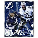 Tampa Bay Lightning NHL Steven Stamkos Player Silk Touch Throw