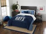 "Tampa Bay Rays MLB ""Grand Slam"" FullQueen Comforter Set"