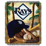"Tampa Bay Rays MLB ""Home Field Advantage"" Woven Tapestry Throw"