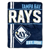"Tampa Bay Rays MLB ""Walk Off"" Micro Raschel Throw"