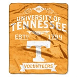 "Tennessee ""Label"" Raschel Throw"