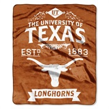 "Texas ""Label"" Raschel Throw"