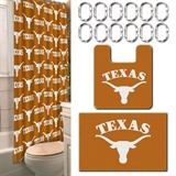 Texas  Longhorns NCAA 15-Piece Bath Set