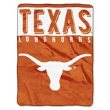 "Texas Longhorns NCAA ""Basic"" Raschel Throw"