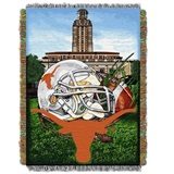 "Texas Longhorns NCAA ""Home Field Advantage"" Woven Tapestry Throw"